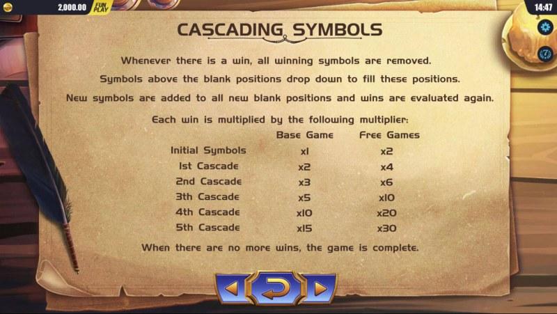 Mystic Museum :: Cascading Symbols