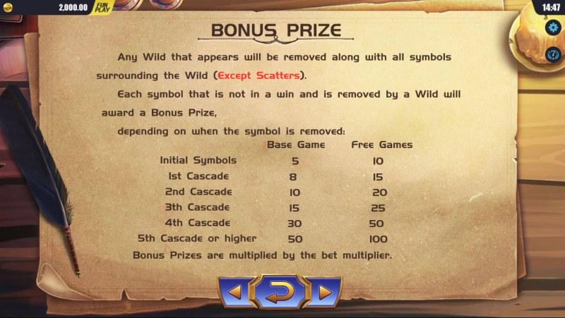 Mystic Museum :: Bonus Prize