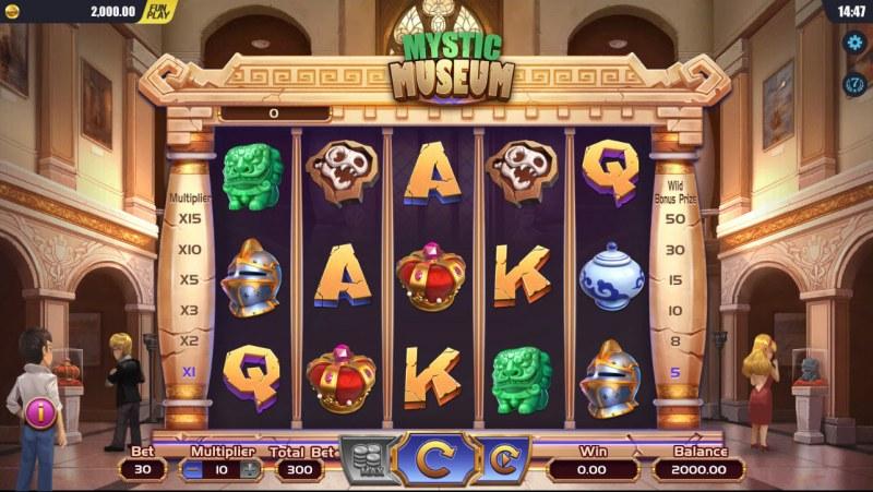 Mystic Museum :: Main Game Board