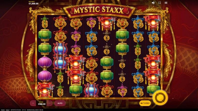 Mystic Staxx :: Base Game Screen