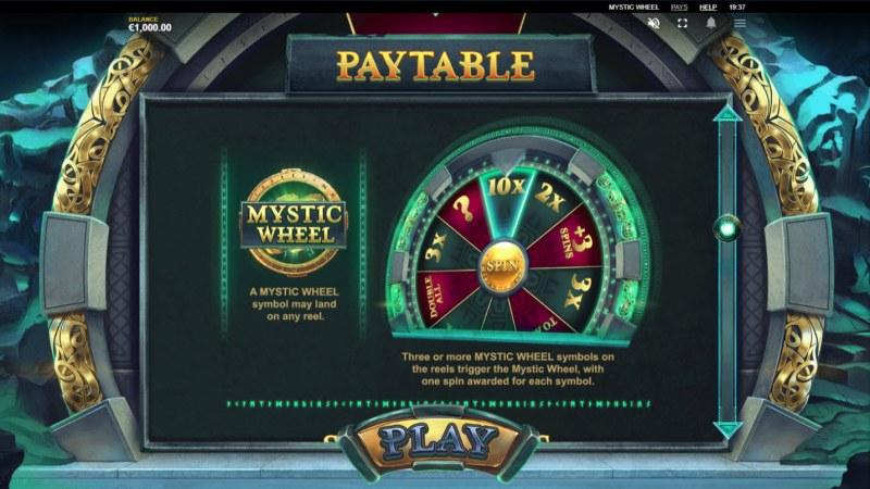 Mystic Wheel :: Scatter Symbol Rules