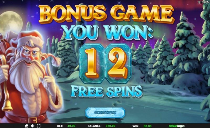 Mystical Santa Megaways :: 12 Free Games Awarded