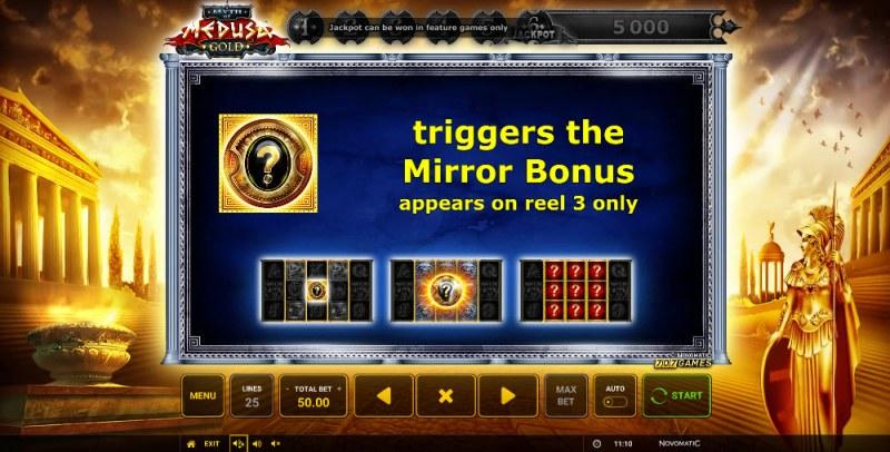 Myth of Medusa Gold :: Bonus Game Rules