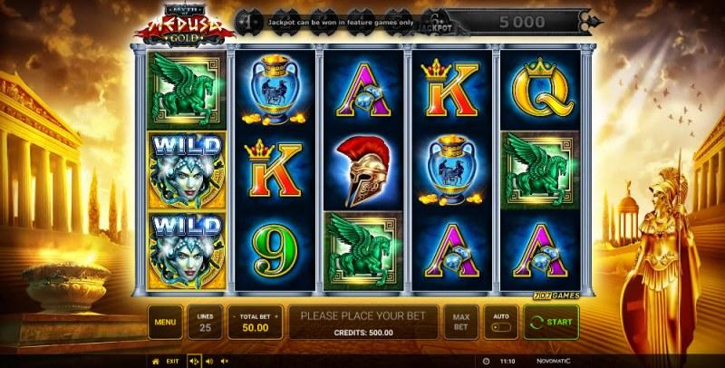 Myth of Medusa Gold :: Main Game Board