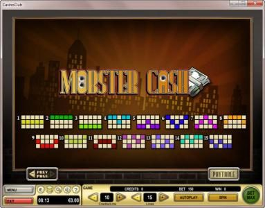 Play slots at Next Casino: Next Casino featuring the Video Slots Mobster Cash with a maximum payout of $90,000