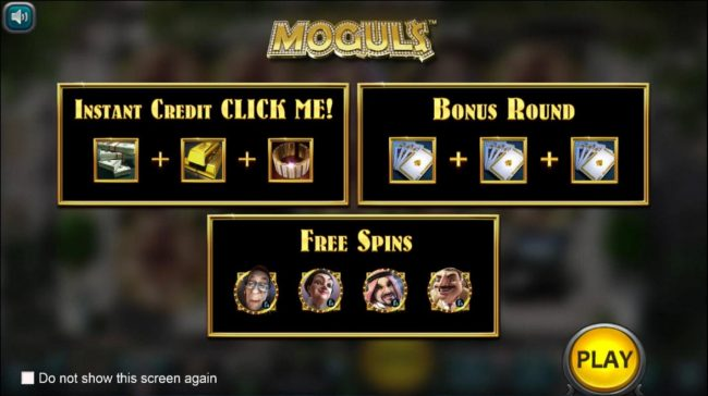 Play slots at MyBcasino: MyBcasino featuring the Video Slots Mogul$ with a maximum payout of $25,000