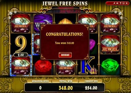 Triple Aces featuring the Video Slots Mona Lisa Jewels with a maximum payout of Jackpot
