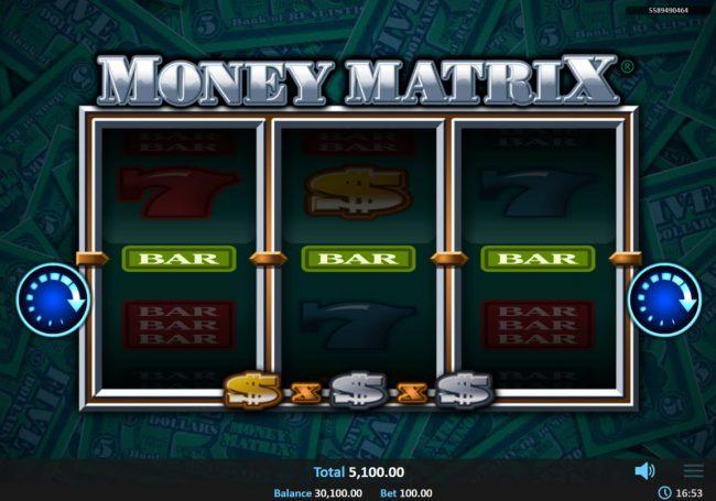 Money Matrix :: Three of a Kind