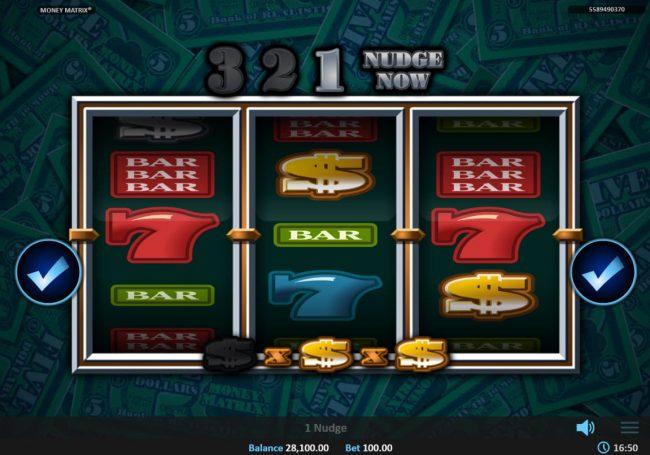 Money Matrix :: Nudge activated