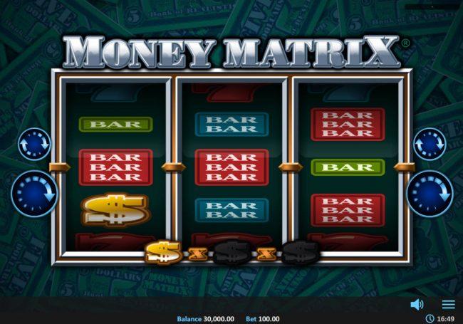 Money Matrix :: Main Game Board