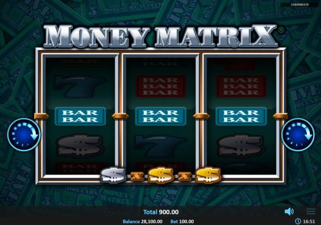 Money Matrix :: A winning three of a kind