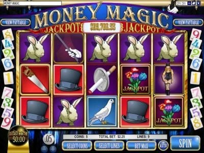 Play slots at Lotus Asia: Lotus Asia featuring the Video Slots Money Magic with a maximum payout of $5,000