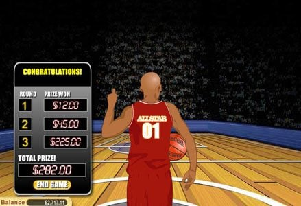 Red Stag featuring the Video Slots Money Shot with a maximum payout of $100,000