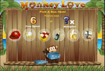 VIP Casino featuring the Video Slots Monkey Love with a maximum payout of $125,000