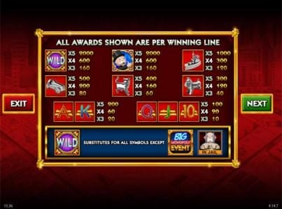 Play slots at Powerspins: Powerspins featuring the Video Slots Monopoly Big Event with a maximum payout of $250,000