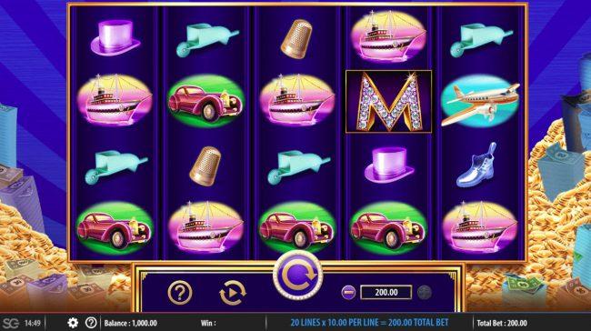 Monopoly Big Money Reel :: Main Game Board