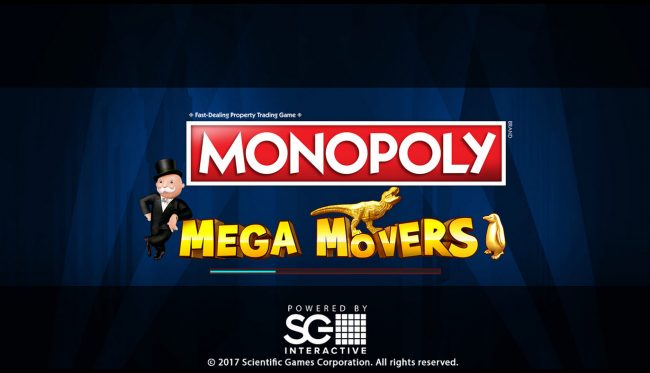 Gala featuring the Video Slots Monopoly Mega Movers with a maximum payout of $250,000
