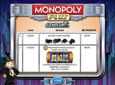 Betfred featuring the Video Slots Monopoly Plus with a maximum payout of $250,000