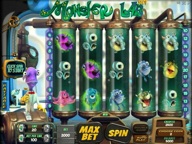 Play slots at AllRight: AllRight featuring the Video Slots Monster Lab with a maximum payout of $100,000