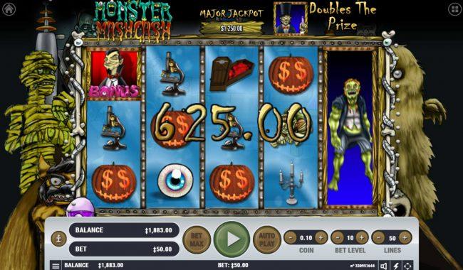Monster Mash Cash :: Multiple winning paylines