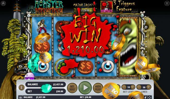 Monster Mash Cash :: Big Win