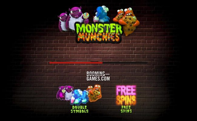 Play slots at B-Bets: B-Bets featuring the Video Slots Monster Munchies with a maximum payout of $10,000