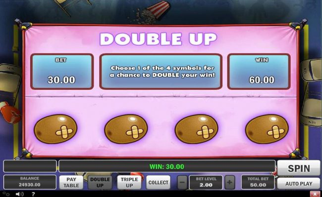 TS featuring the Video Slots Monster Smash with a maximum payout of Jakpot