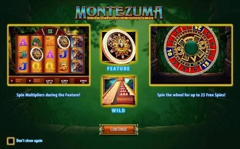 Play slots at Wicked Jackpots: Wicked Jackpots featuring the Video Slots Montezuma with a maximum payout of $250,000