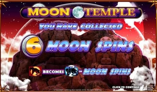 Royal House featuring the Video Slots Moon Temple with a maximum payout of 80,000x