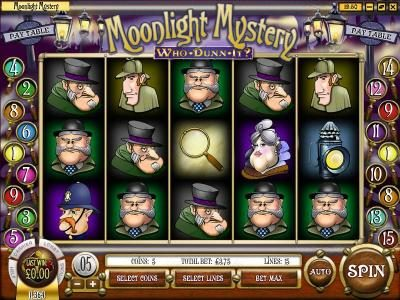 Play slots at Golden Lady: Golden Lady featuring the Video Slots Moonlight Mystery with a maximum payout of $10,000