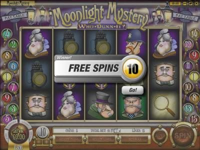 Black Lotus featuring the Video Slots Moonlight Mystery with a maximum payout of $10,000