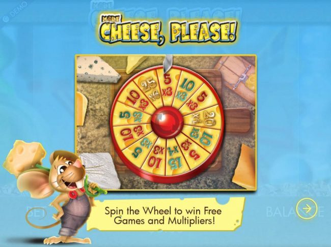 Spin the wheel to win Free Games and Multipliers.