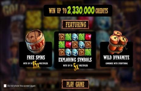 win up to 2,330,000 coins