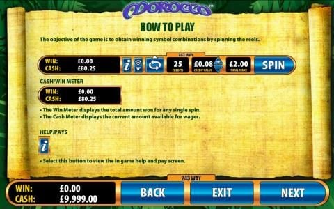 Yako Casino featuring the Video Slots Morocco with a maximum payout of $6,400