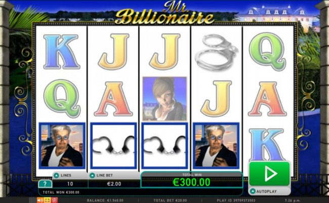 Amsterdam Casino featuring the Video Slots Mr. Billionaire with a maximum payout of $200,000