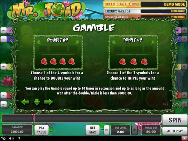 Neder featuring the Video Slots Mr. Toad with a maximum payout of $150,000
