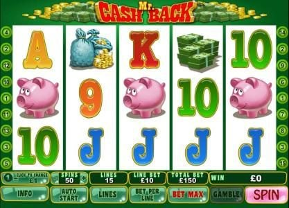 Play slots at Chips Palace: Chips Palace featuring the Video Slots Mr. Cash Back with a maximum payout of $75,000