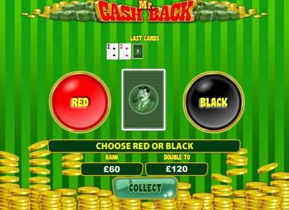 Grand Wild featuring the Video Slots Mr. Cash Back with a maximum payout of $75,000