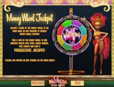 7Kasino featuring the Video Slots Mr. Vegas with a maximum payout of $7,500