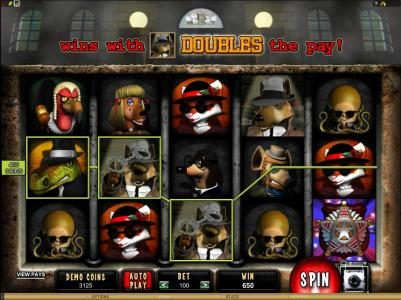 Play slots at Casino Classic: Casino Classic featuring the Video Slots Mugshot Madness with a maximum payout of $100,000