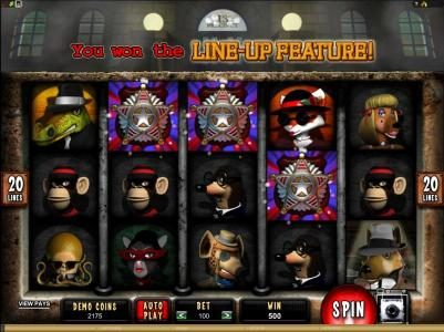 Rich Casino featuring the Video Slots Mugshot Madness with a maximum payout of $100,000