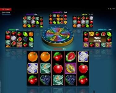 Play slots at Casino Classic: Casino Classic featuring the Video Slots Multi-Player Wheel of Wealth with a maximum payout of $25,000