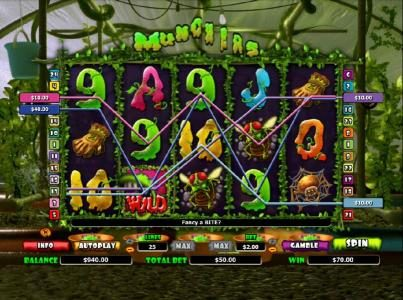 Yako Casino featuring the Video Slots Munchers with a maximum payout of $10,000
