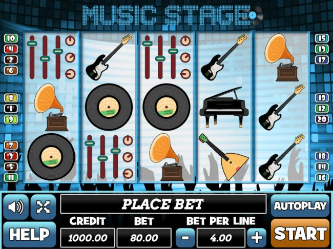 Play slots at Venetian: Venetian featuring the Video Slots Music Stage with a maximum payout of $24,000