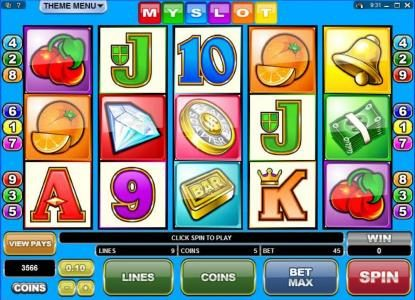 Play slots at CasinoUK: CasinoUK featuring the Video Slots MySlot with a maximum payout of $50,000