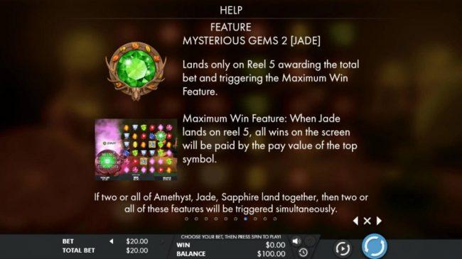 Jade Mysterious Gems Rules