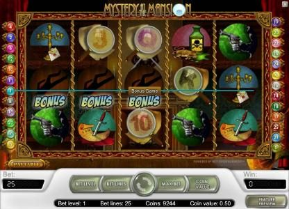 Casino Red Kings featuring the Video Slots Mystery At The Mansion with a maximum payout of $15,000