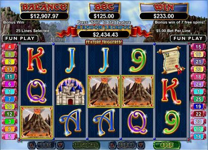 Captain Jacks featuring the Video Slots Mystic Dragon with a maximum payout of $250,000