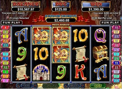 Real Vegas Online featuring the Video Slots Mystic Dragon with a maximum payout of $250,000