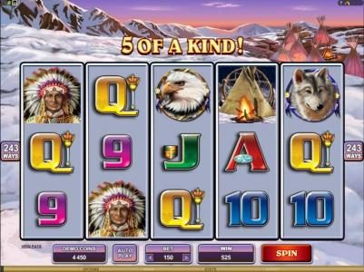 Golden Reef featuring the Video Slots Mystic Dreams with a maximum payout of $360,000